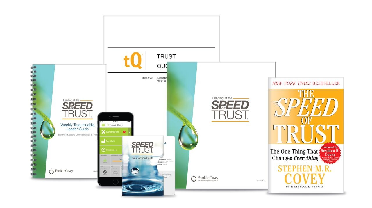 the speed of trust The book informs readers how to inspire lasting trust in their personal and  professional relationships, and in so doing to create unparalleled success and.